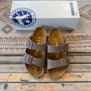 Birkenstock brown Arizona 2 strap sandals kids 2